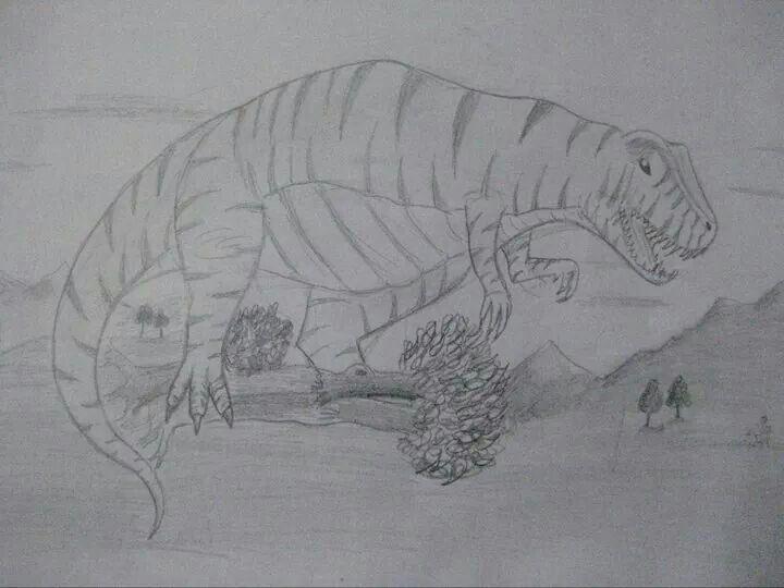 Dinazor Hayvanlar Karakalem Resim çizimleri Pinterest