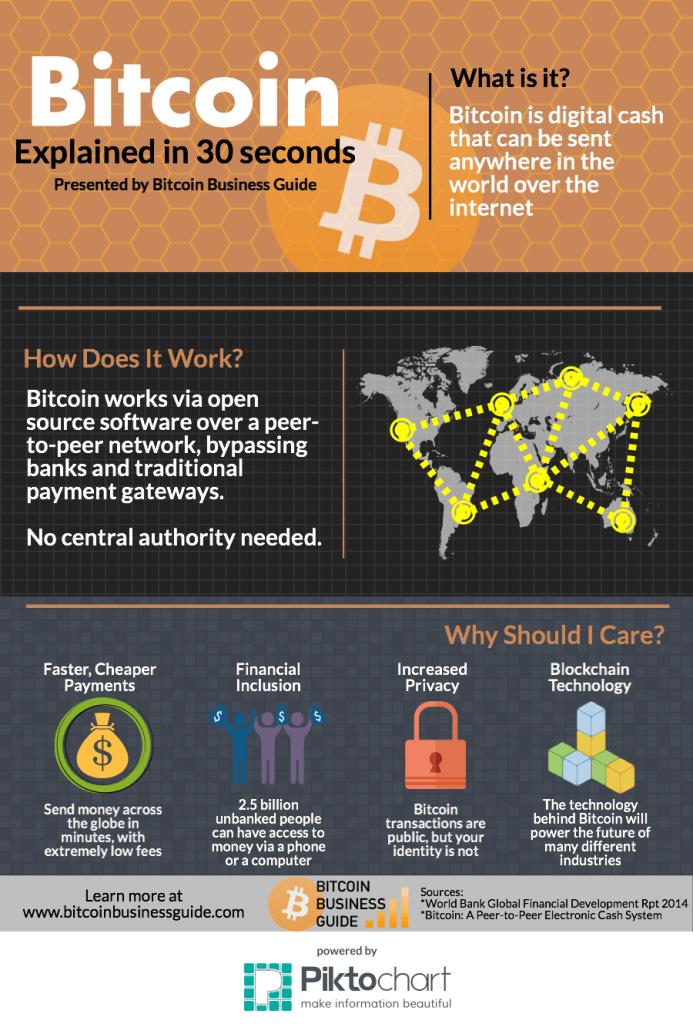 bitcoin infographic)