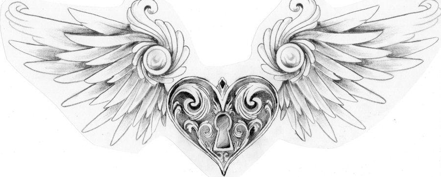 Wingedheartlocketbymustanginky D4xbh2gjpg 900362 Pixels