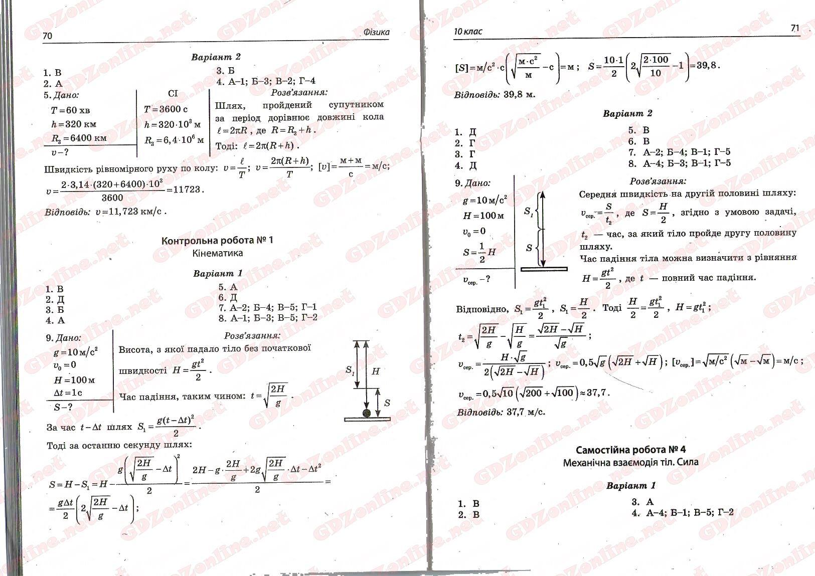 зошит для лабораторних робіт з фізики 8 клас левшенюк