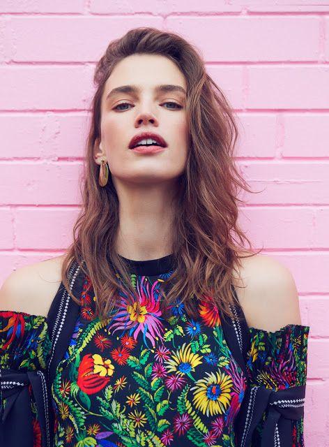 Crista Cober | Elle Canadá Janeiro 2017 | Editoriais - Revistas de Moda