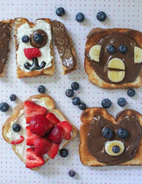 Fun Kids Snack   Animal Toasts is part of Cool Kids Crafts Creative - This kids breakfast snacks are adorable and so easy to make! You don't need any fancy kitchen skills to pull these yummy toast snacks off  We have created a tutorial to make it even easier to…