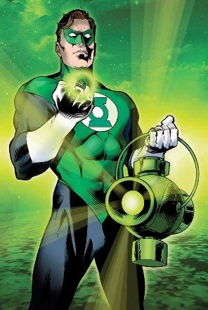 Linterna Verde Puede Crear Objetos Solidos Con Su Anillo Green Lantern Corps Linterna Verde Dibujos