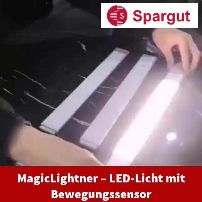 MagicLightner – LED-Licht mit Bewegungssensor 🌟🌟🌟🌟🌟