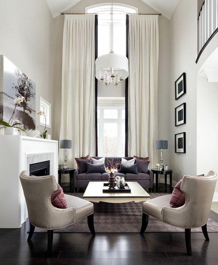 decorar salon alargado diseno fabuluso contemporaneo ideas - Decorar Salon Alargado