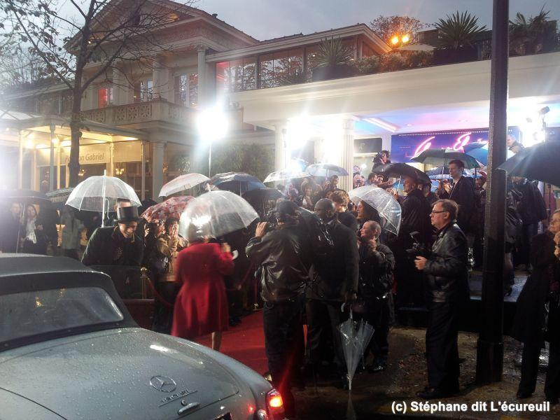 Tournage Générique de Champs-Elysées #MyClap #public #champselysées