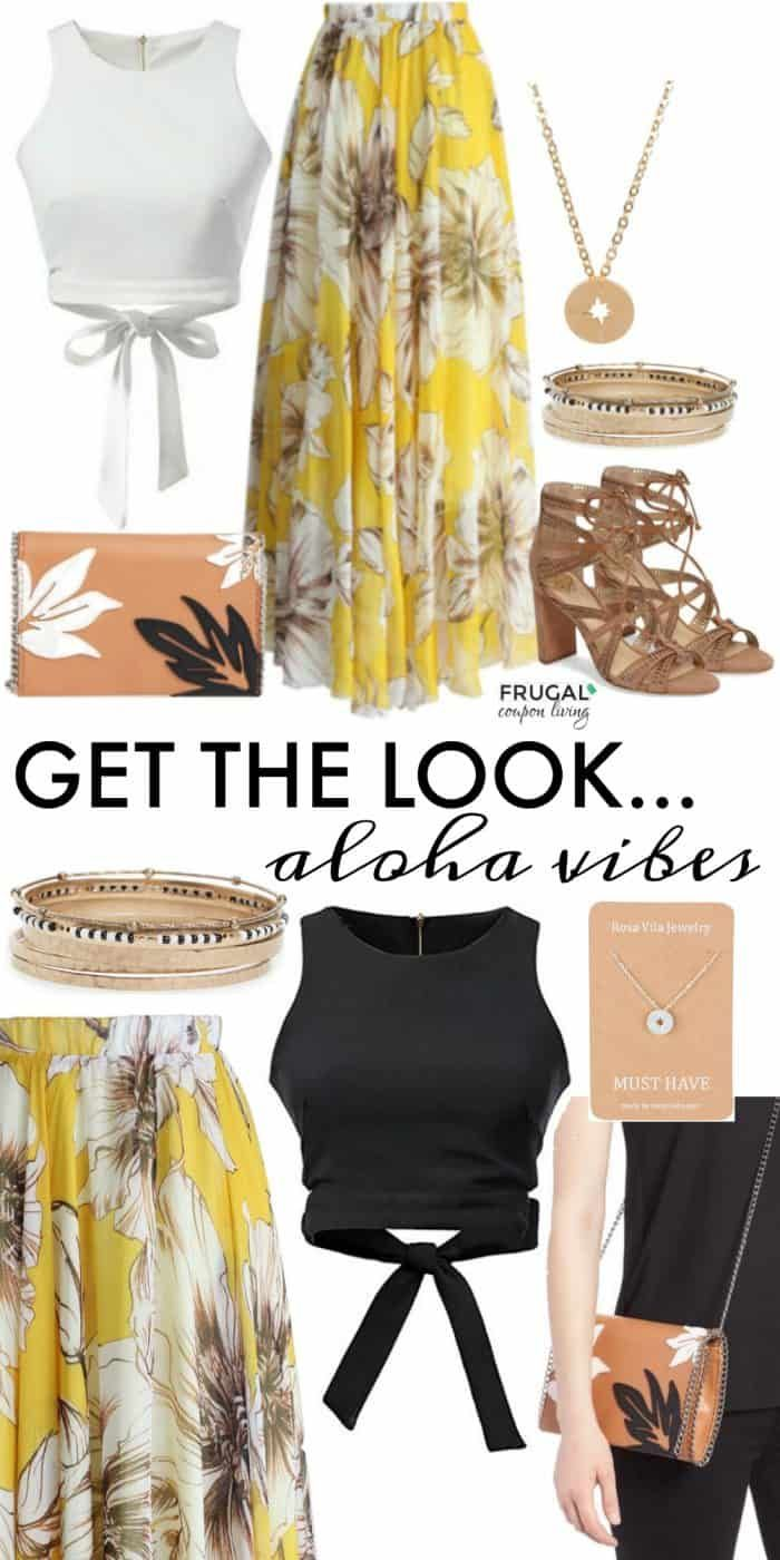 Frugal Fashion Friday Aloha Vibes