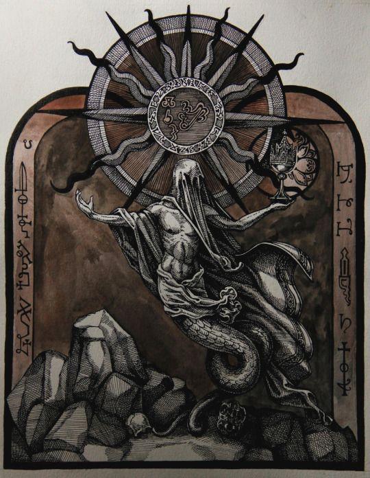 Finest occult art by Jose Gabriel Alegría Sabogal.