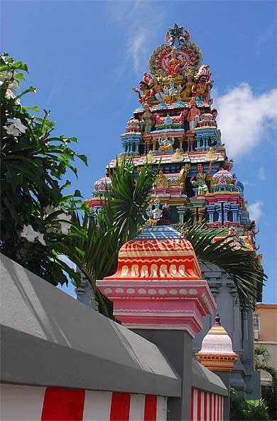 Temple Hindou Pr U00e8s De Grand Baie