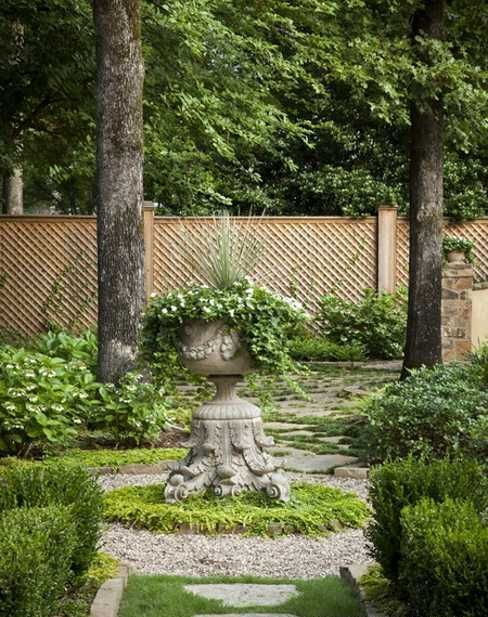 Refined French Backyard Garden Décor Ideas | Garden Design ...