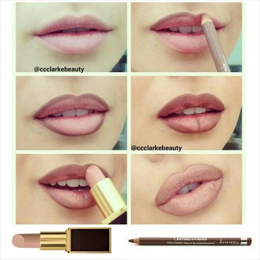 How To Get Fuller Lips Using Only Makeup Ccclarkebeauty Used
