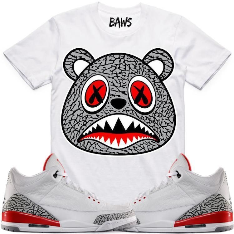 cbd6d6aa33b3eb Sneaker Tee Shirt made by BAWS Clothing. Shirt is made out of pre-shrunk  cotton and fits true to size. Machine wash cold and hang dry.