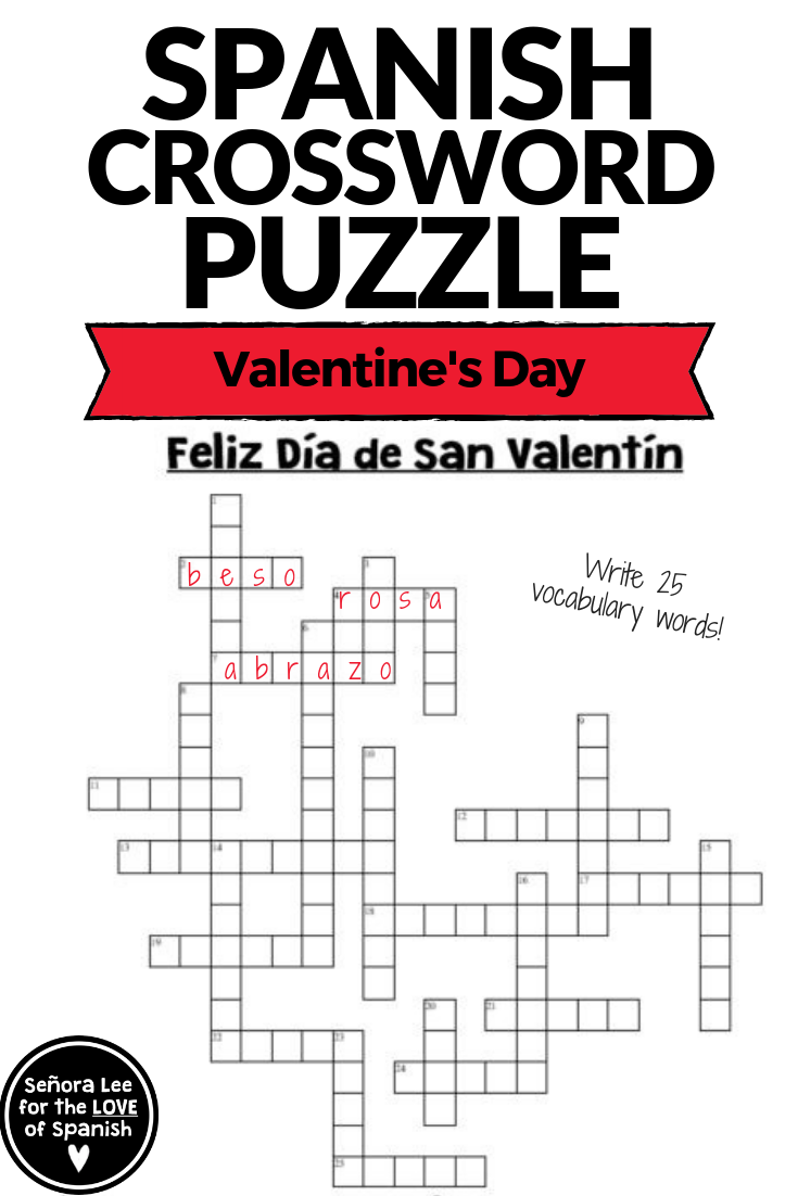 flirting quotes in spanish crossword puzzles english