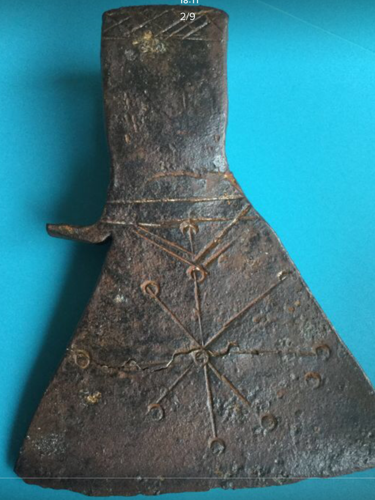 9th 13th C Scandinavian Decorated Axe Of Rare Form Most Likely Swedish Norse Pagan Viking History Norse Vikings