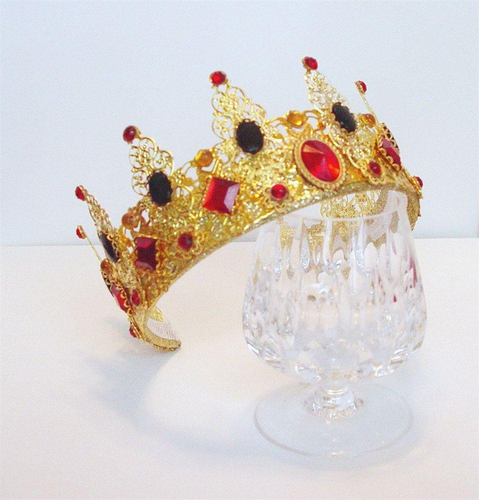Renaissance Crown Medieval Crown Renaissance by DRAGONPIPES