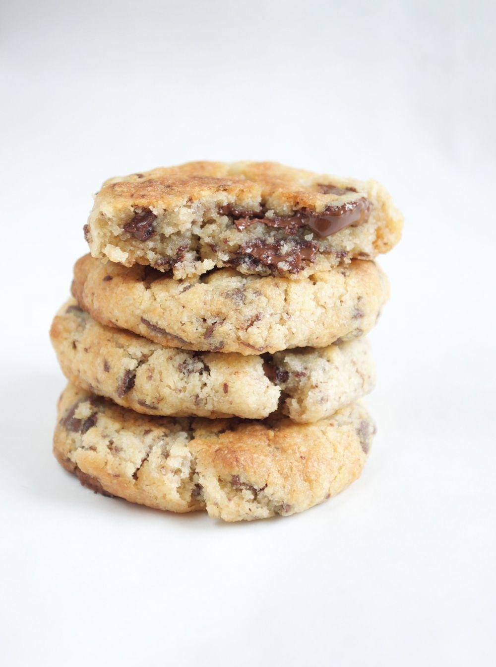 Des cookies aux p pites de chocolat un r sultat gourmand - Cuisinez gourmand sans gluten sans lait sans oeufs ...