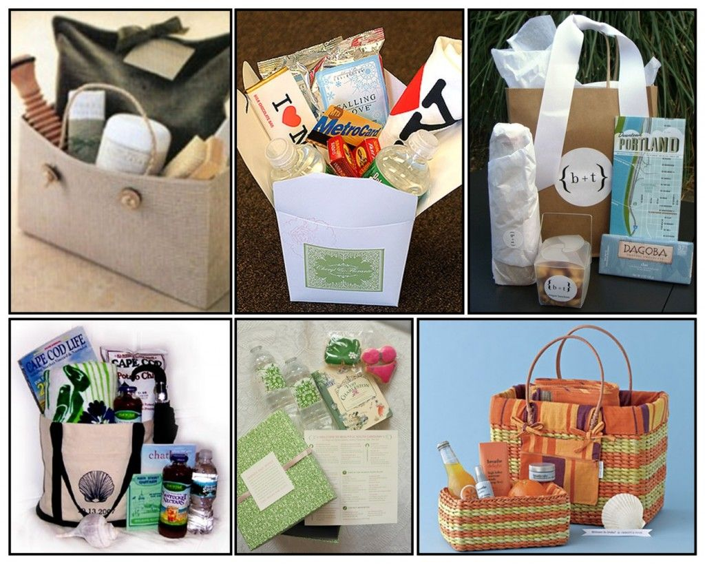 Diy Wedding Gift Ideas For Guests: Out Of Town Guest Gift Baskets For Hotel Guests