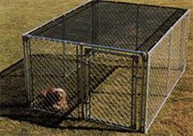 Sun block top for Dog Kennels