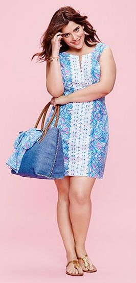 Plus Size Shift Dress Lilly Pulitzer For Target Plus Size