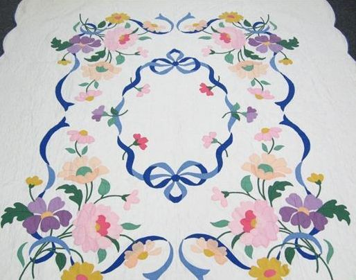 Floral Kit Quilt Antique Kit Quilts Applique Quilts