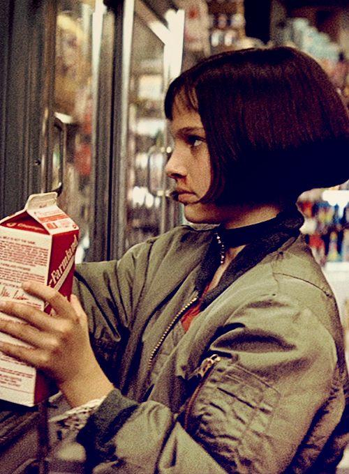 Nathalie Portman dans Leon
