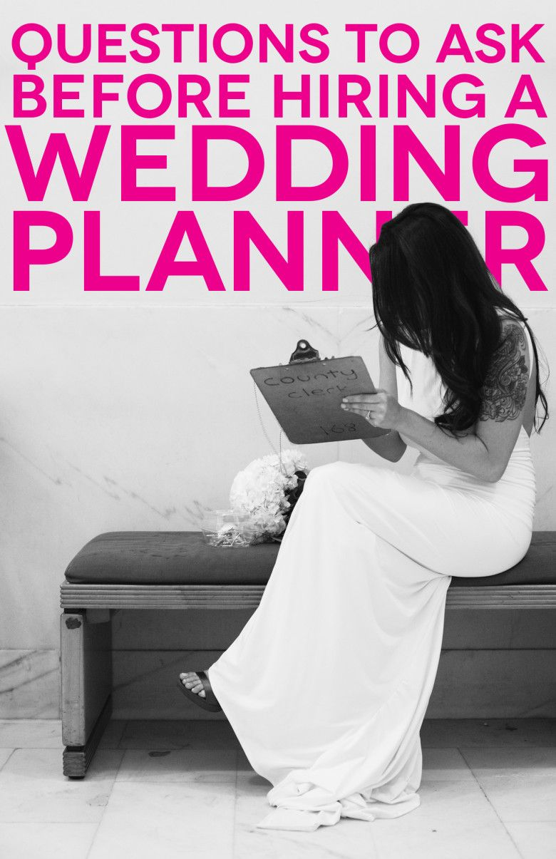 Six Questions To Ask Before Hiring A Wedding Planner
