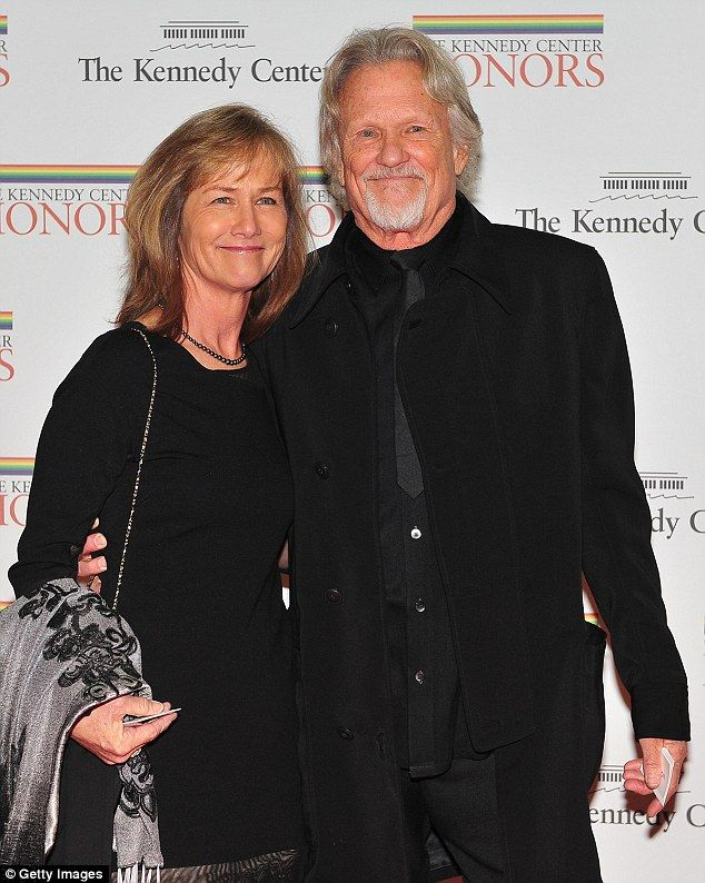 Country music legend Kris Kristofferson's wife Lisa (pictured with him at a state dinner in 2010) has opened up about his long un-diagnosed battle with Lyme disease