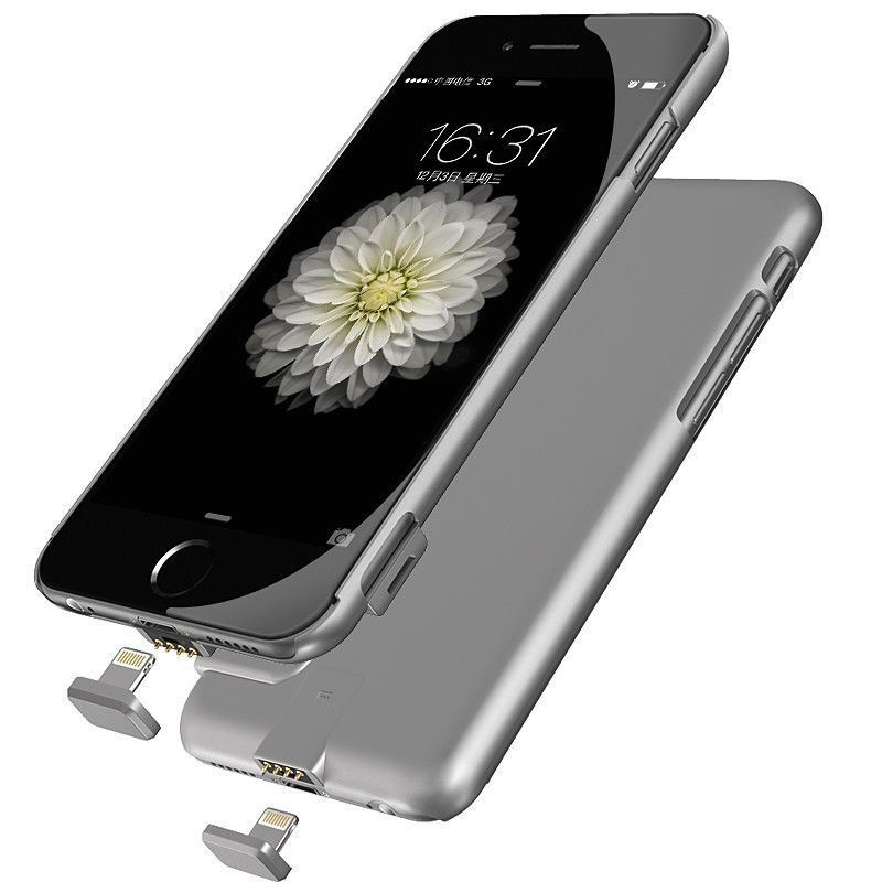 External Battery Portable Charger Power Bank Cover Case For iphone 7 plus   iphone plus Backup Charger Power Bank Battery case 735f0153c