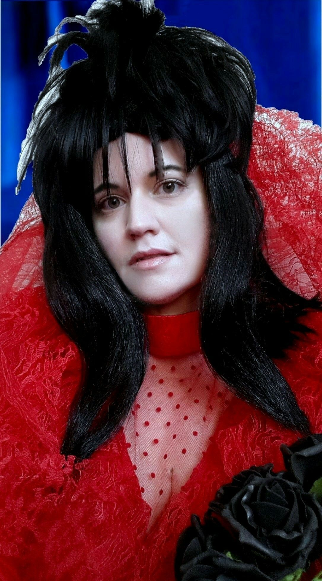 Lydia Deetz Red Wedding Dress Beetlejuice Fancy Dress