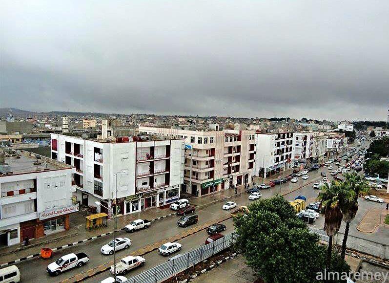 شارع العروبة مدينة البيضاء Al Orouba Street Beida City Skyline Dolores Park Paris Skyline