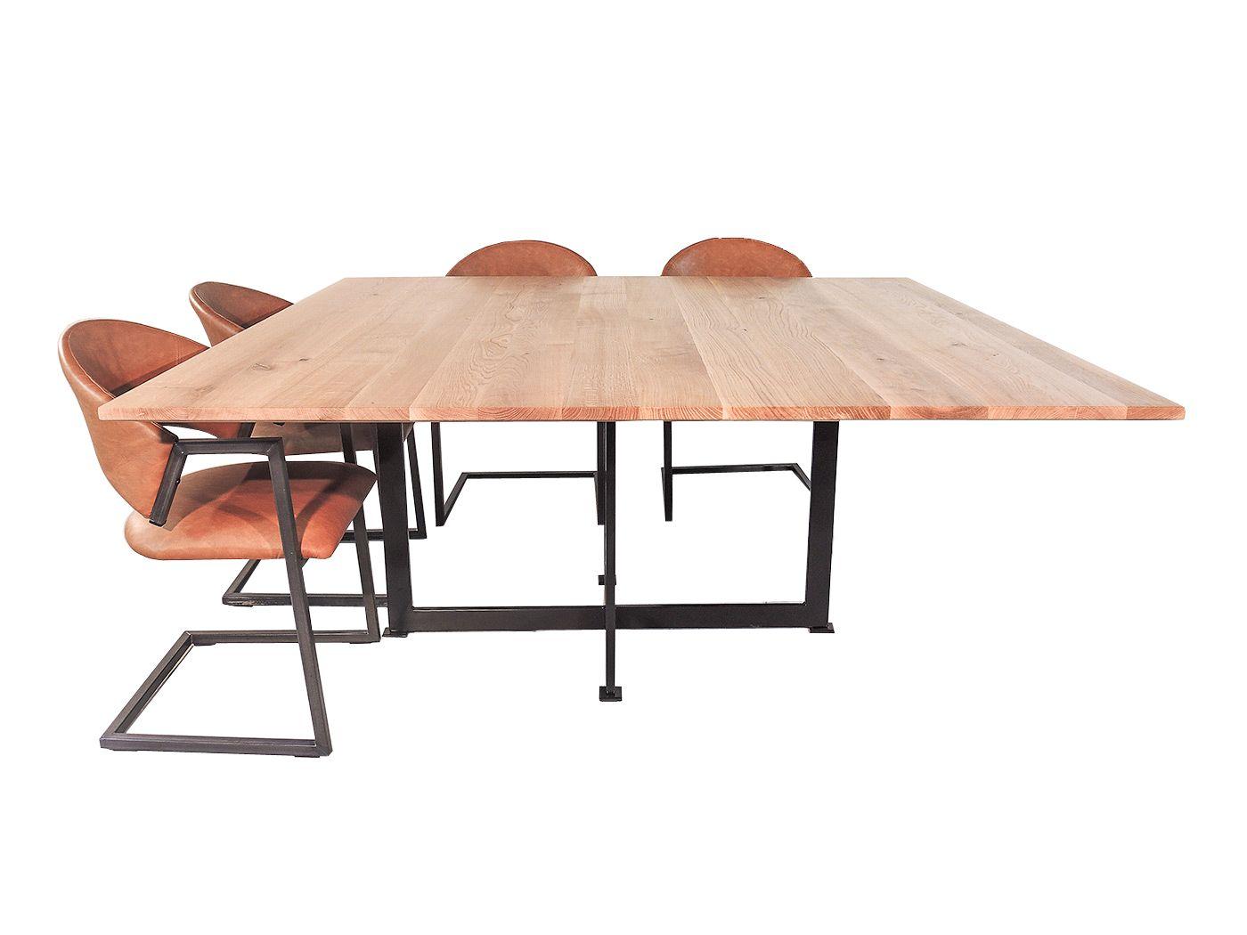 Vierkante Eettafel 12 Personen.Texas Vierkante Eettafel Voor 8 Of 10 Personen Vierkante