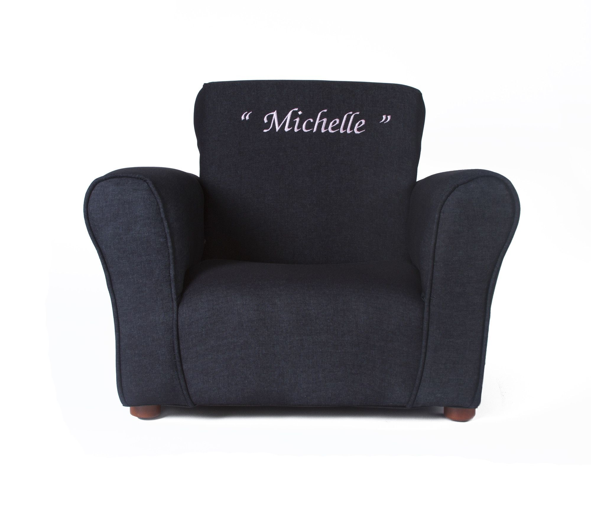 Personalized Chairs For Baby Blue Denim Personalized Kids Club Chair Products Personalized