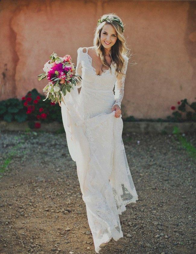 Cheap Plain Wedding Dresses | Unique Wedding Dresses | Pinterest ...