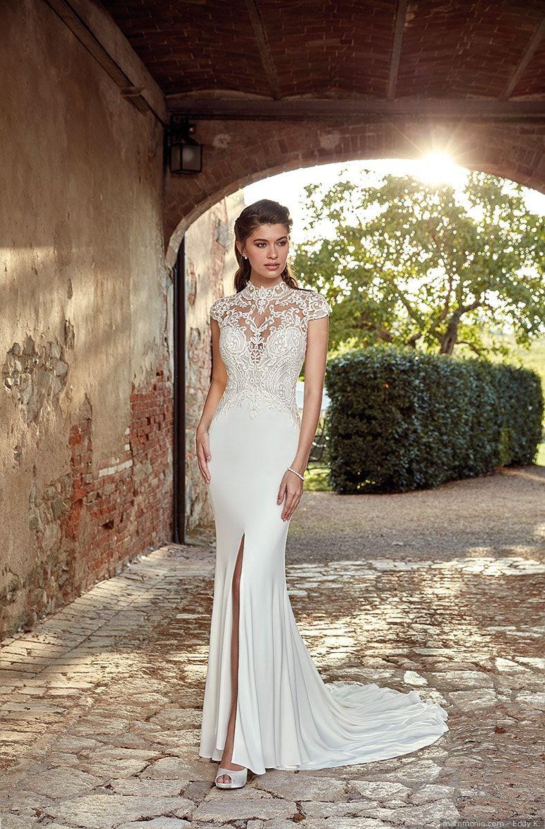 Abiti da sposa Eddy K  50 modelli romantici e sognanti per un look alla moda 2e43a56dff8