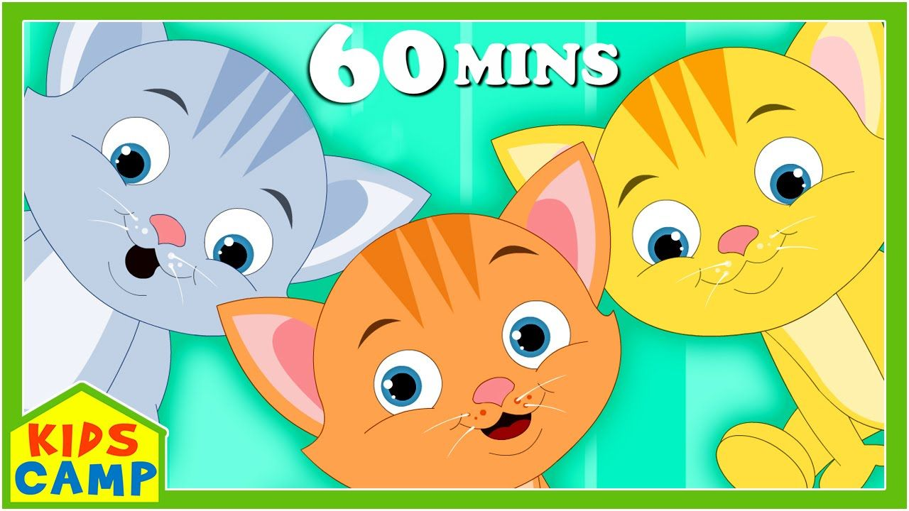 Three Little Kittens And Many More Nursery Rhymes For Children By Kids In 2020 Kids Nursery Rhymes Rhymes For Kids Cute Kitten Gif