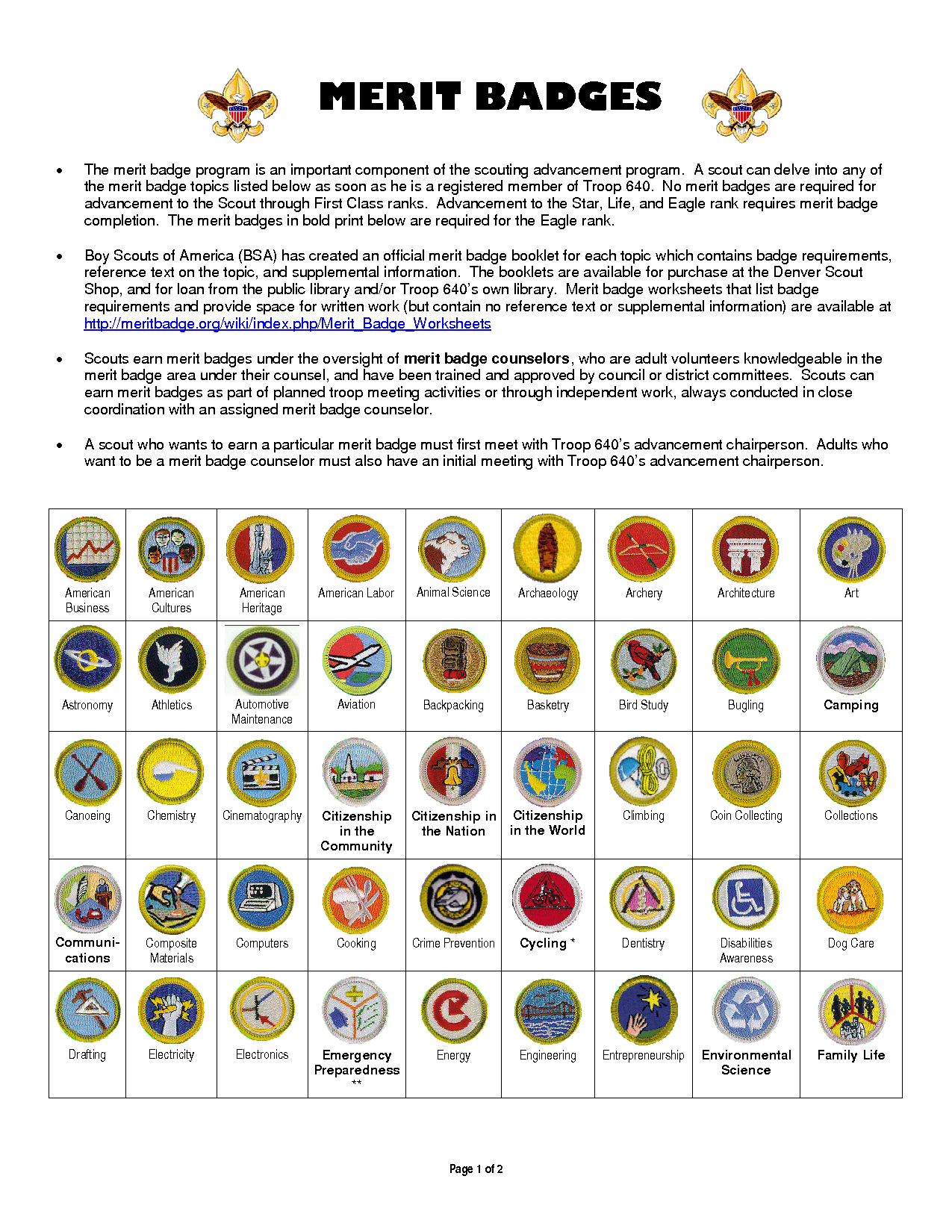 picture relating to Printable List of Merit Badges known as Boy Scout benefit badges Do it yourself Crafts Boy scouts benefit