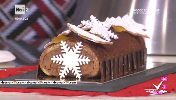 Tronchetto Di Natale Detto Fatto 2019.Detto Fatto La Ricetta Del Buche De Noel Tronchetto Di Natale Di