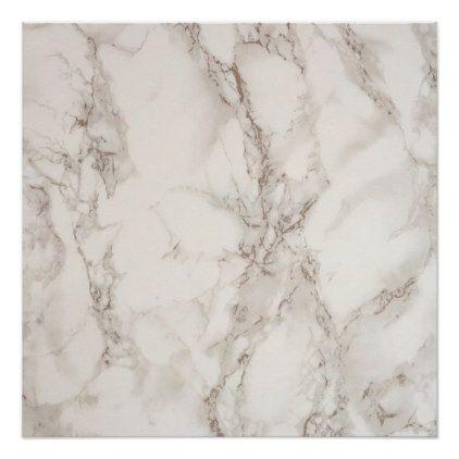 Marble Stone Perfect Poster | Zazzle.com
