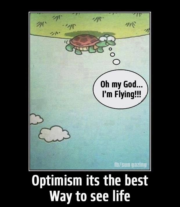 Are you optimistic - then join me on - tsū