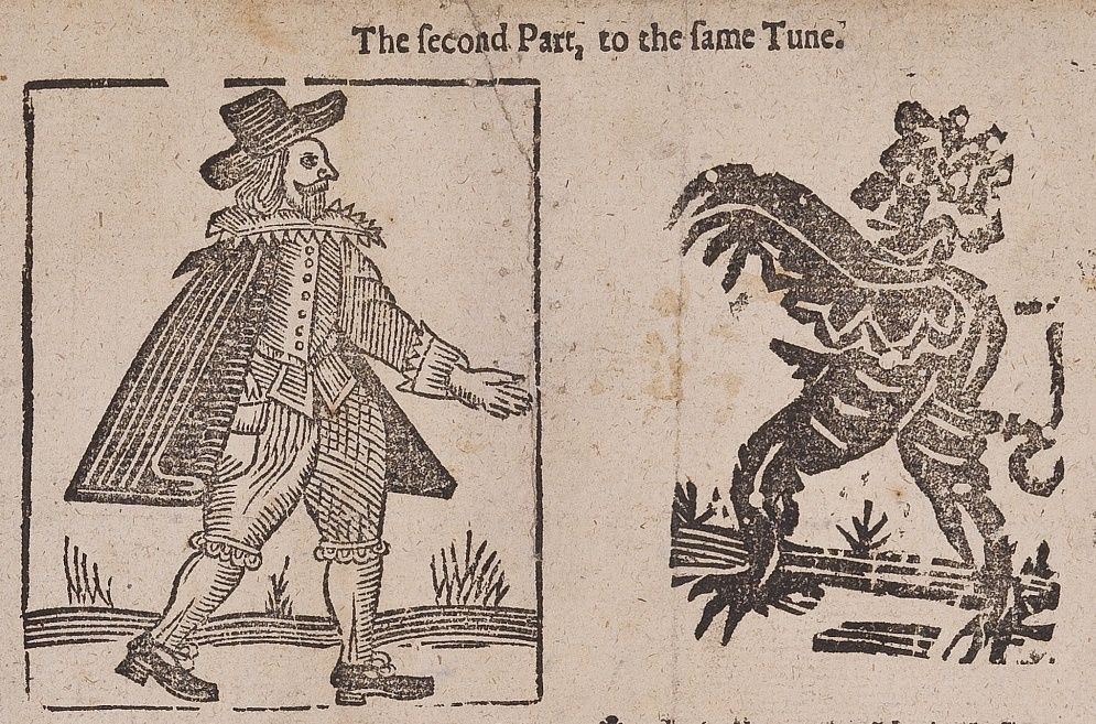 Expensive And Laborious To Produce A Single Woodcut Could Be Recycled To Illustrate Hundreds Of Different Ballads Each New Woodcut 17th Century Illustration