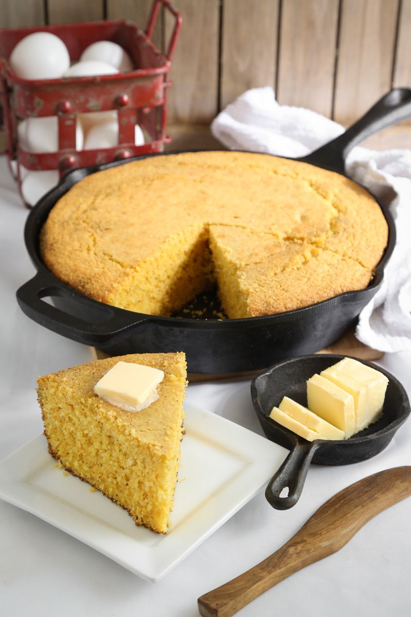 Really Good Southern Cornbread Buttermilk Cornbread Homemade Buttermilk Corn Bread Recipe