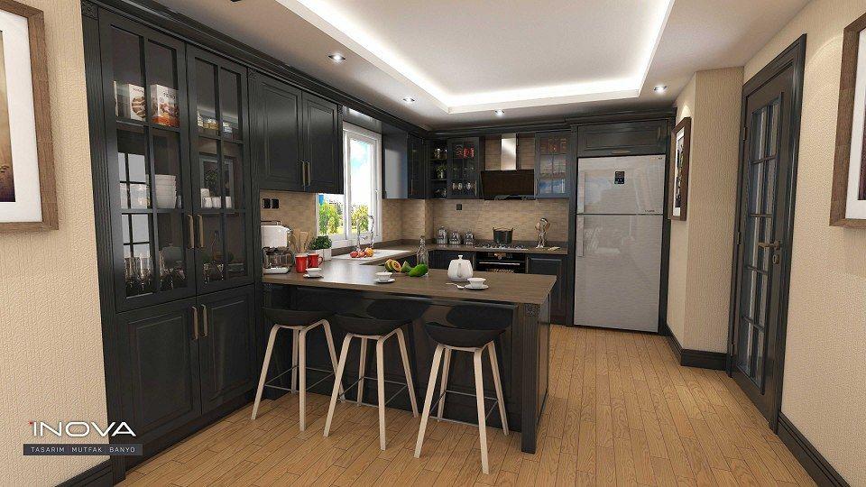 Luxury kitchen & Visopt vray render by Abdulkader Welaya