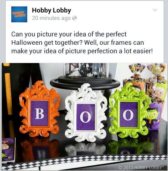 Hobby Lobby framesBOO!! Halloween Pinterest Hobby lobby - hobby lobby halloween decor