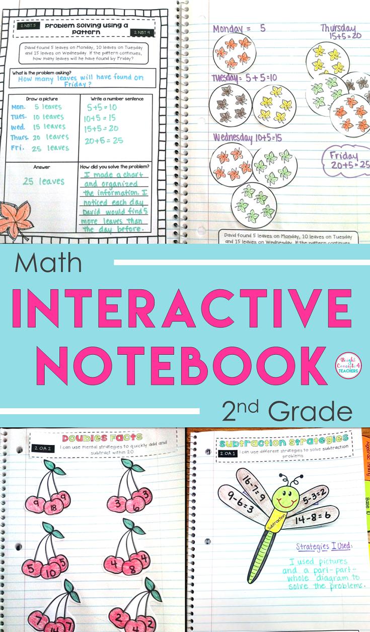 My New Best Friend: Math Interactive Notebooks | Math, Subtraction ...