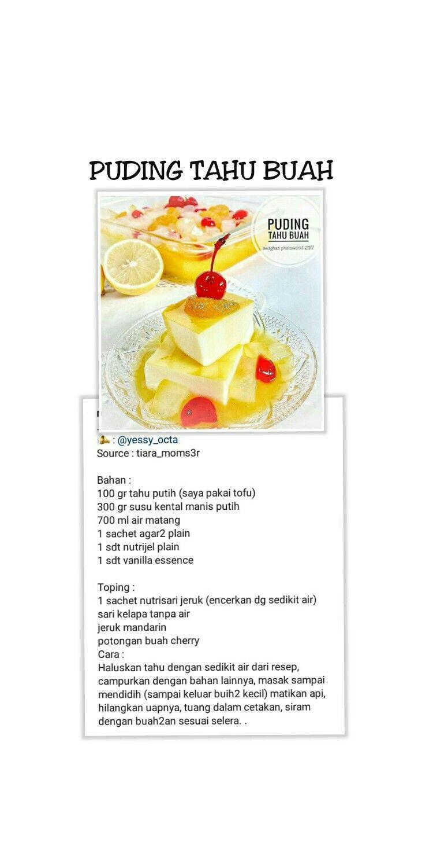 Pin Oleh Myrakarim Di Recipes Kartu Resep Resep Resep Kue