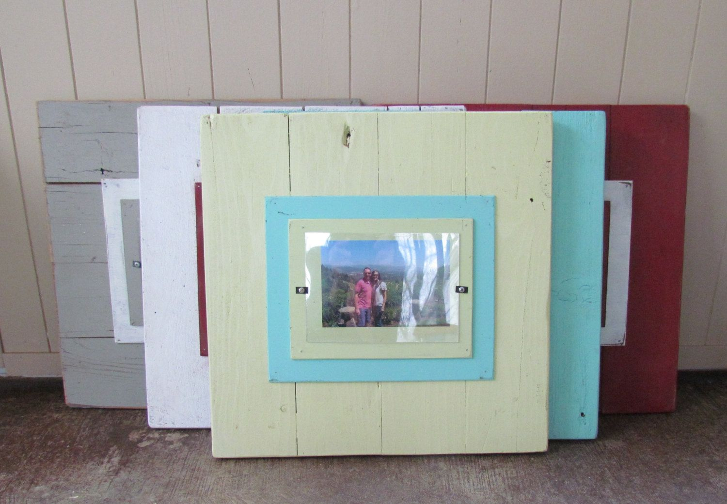 Barn Wood Picture Frames 4x6 OR 5x7. $50.00, via Etsy. | Barnwood ...