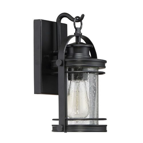 Founditatjossmain biltmoreoutdoorwalllantern pa house quoizel booker outdoor wall light in mystic black mozeypictures Images