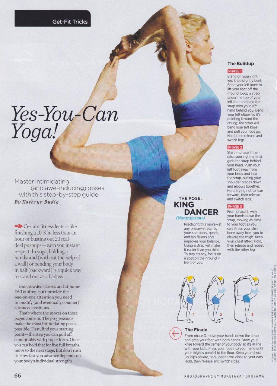 Dancer Pose Yoga Sequence : dancer, sequence, Dancer, Yoga,