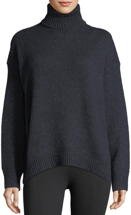 c1eccaaaf2e6 Vince Oversized Knit Turtleneck Sweater