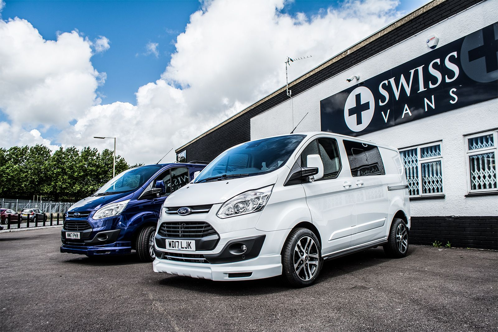 Ford Transit Custom Lease 1000 5 Star Reviews Swiss Vans